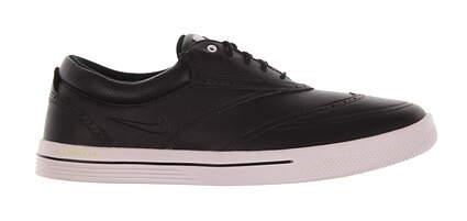 New Mens Golf Shoe Nike Swingtip Medium 8 Black MSRP $200