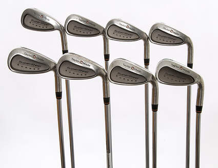 TaylorMade Supersteel Iron Set 3-PW Rifle Prescion Steel Stiff Right Handed 38.5 in