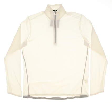 New Mens Ralph Lauren RLX 1/4 Zip Golf Pullover X-Large XL White MSRP $145