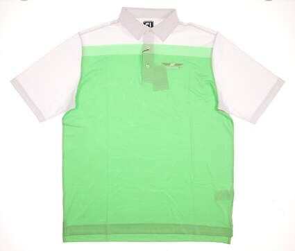 New Mens Footjoy Bob Vokey Design Logo Golf Polo X-Large XL Green MSRP $66