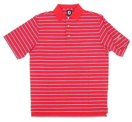 New Mens Footjoy Bob Vokey Design Logo Golf Polo Medium M Red MSRP $62