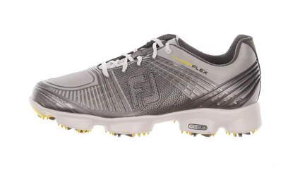 New W/O Box Mens Golf Shoe Footjoy Hyperflex 9.5 Silver MSRP $200