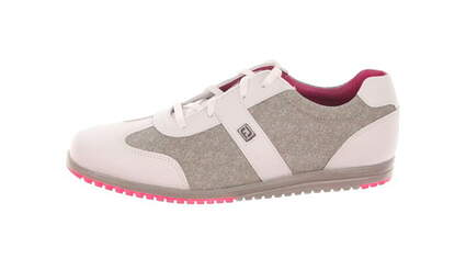 New Womens Golf Shoe Footjoy Casual Collection Medium 8 Taupe MSRP $120