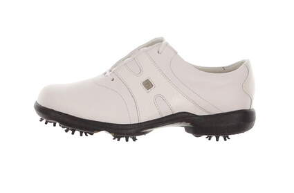 New Womens Golf Shoe Footjoy Dryjoys Medium 6 White MSRP $160