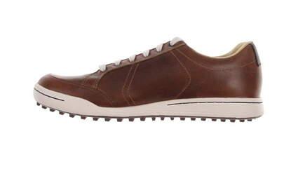 New W/O Box Mens Golf Shoe Ashworth Cardiff 10 Brown MSRP $160