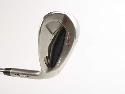 Ping Tour Gorge Wedge Sand SW 56* Wide Sole Ping CFS Steel Stiff Right Handed Black Dot 35.5 in