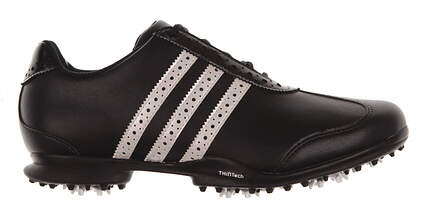 New Womens Golf Shoe Adidas Driver Val S 10 Black/White MSRP $95