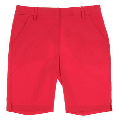 New Womens Puma Pounce Bermuda Golf Shorts Size 6 Rose Red MSRP $65
