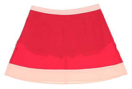 New Womens Puma Flare Golf Skort Size Large L Rose Red MSRP $70
