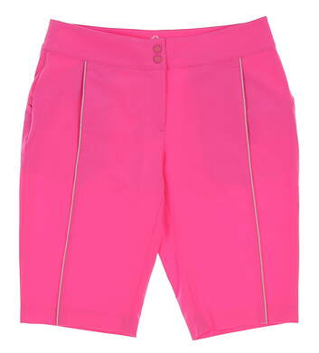 New Womens EP Pro Sport Golf Shorts Size 2 Pink MSRP $90