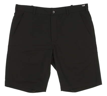 New Mens Antigua Golf Shorts Size 36 Black MSRP $52