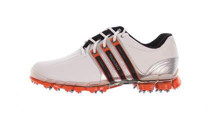 New Mens Golf Shoe Adidas Tour 360 ATV Medium 8.5 White/Orange MSRP $220