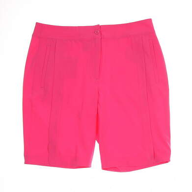 New Womens EP Pro Golf Shorts Size 12 Pink MSRP $74