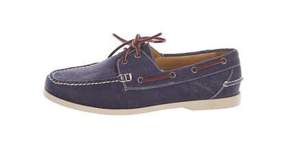 New Mens Golf Shoe Peter Millar Loafer Medium 10.5 Blue MSRP $300