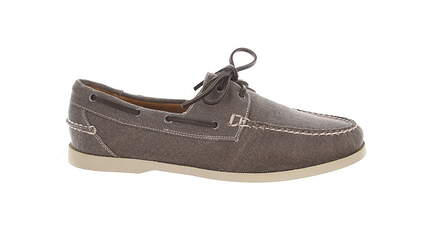 New Mens Golf Shoe Peter Millar Loafer Medium 10.5 Gray MSRP $300