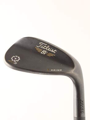Titleist Vokey SM5 Raw Black Wedge Gap GW 50* 12 Deg Bounce F Grind Project X 6.5 Steel X-Stiff Right Handed 35.5 in