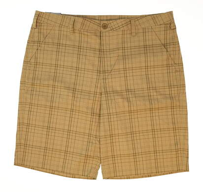 New Mens Under Armour Golf Shorts Size 40 Tan MSRP $70