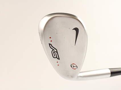 Nike SV Tour Chrome Wedge Sand SW 56* 14 Deg Bounce True Temper Dynamic Gold S400 Steel Stiff Left Handed 35 in