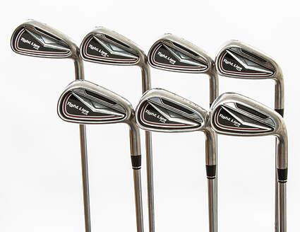 Adams Tight Lies Plus Iron Set 4-PW Stock Steel Shaft Steel Uniflex Right Handed 38 in