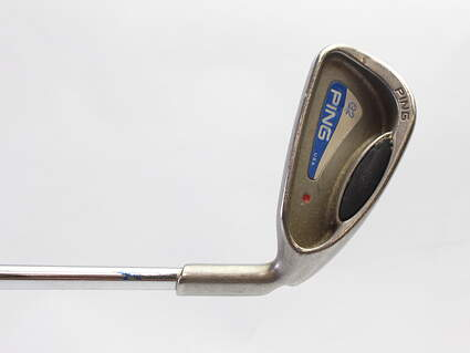 Ping G2 Single Iron 4 Iron Stock Steel Shaft Steel Regular Right Handed Red dot 38.5 in