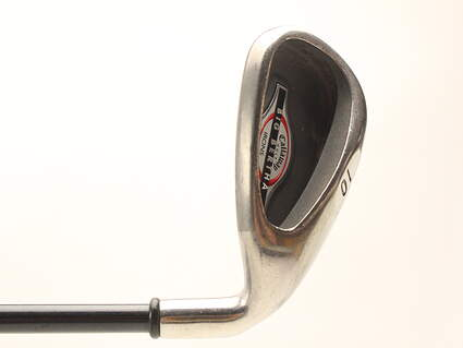 Callaway 2002 Big Bertha Single Iron Pitching Wedge PW Callaway RCH 75i Graphite Senior Right Handed 35.5 in