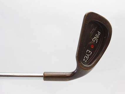 Ping Eye 2 + Beryllium Copper Single Iron 3 Iron Ping Microtaper Steel Stiff Right Handed Red dot 39 in