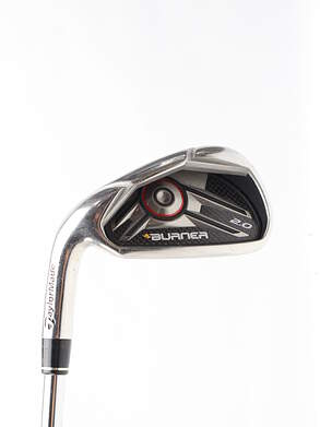 TaylorMade Burner 2.0 HP Single Iron 4 Iron TM Burner 2.0 85 Steel Regular Left Handed 39.25 in