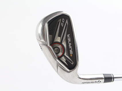 TaylorMade Burner 2.0 HP Single Iron 6 Iron TM Burner 2.0 85 Steel Regular Left Handed 38 in