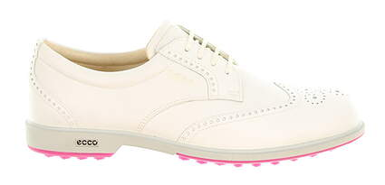 New Womens Golf Shoe Ecco Classic Hybrid 8.5 White MSRP $220