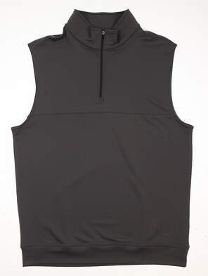 New Mens Dunning Golf Vest Large L Gray MSRP $79