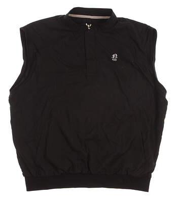 New W/ Logo Womens SUNICE Golf Vest Large L Black MSRP $82