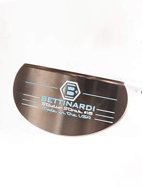 Mint Bettinardi 2015 Studio Stock 16 Putter Steel Right Handed 35 in With Headcover