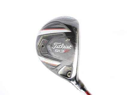 Titleist 913F Fairway Wood 7 Wood 7W 21* Titleist Bassara W 45 Graphite Ladies Right Handed 40.25 in