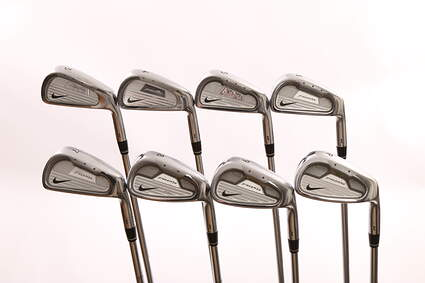 Nike Forged Pro Combo Iron Set 3-PW Stock True Temper SpeedStep Shaft Steel Stiff Right Handed 38 in