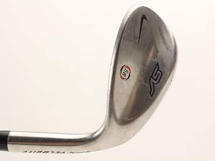 Nike SV Tour Chrome Wedge Lob LW 58* 10 Deg Bounce Stock Steel Shaft Steel Wedge Flex Right Handed 34.75 in