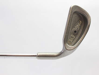Ping Eye 2 + Single Iron 4 Iron Stock Steel Shaft Steel Stiff Right Handed Black Dot 38.25 in