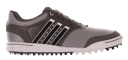 New Mens Golf Shoe Adidas Adicross III Medium 12 Gray MSRP $100