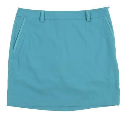 New Womens Ralph Lauren Golf Skort Size 10 Blue MSRP $157