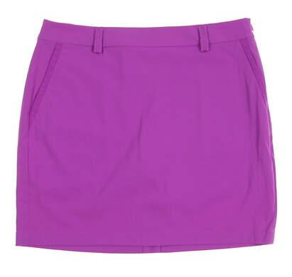 New Womens Ralph Lauren Golf Skort Size 8 Purple MSRP $157