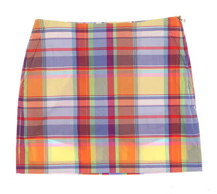 New Womens Ralph Lauren Golf Skort Size 8 Multi MSRP $182