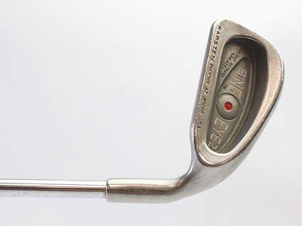 Ping Eye 2 Single Iron 4 Iron Stock Steel Shaft Steel Regular Right Handed Red dot 38.5 in