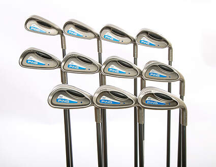 Ping G2 Iron Set 2-LW Ping TFC 100I Graphite Regular Right Handed Blue Dot 37.75 in