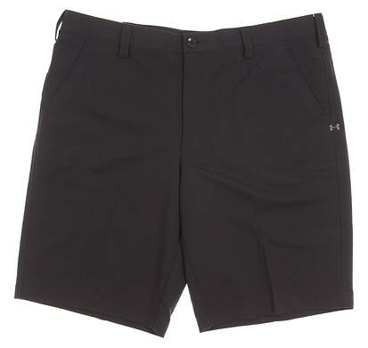 New Mens Under Armour Golf Shorts Size 40 Black MSRP $60