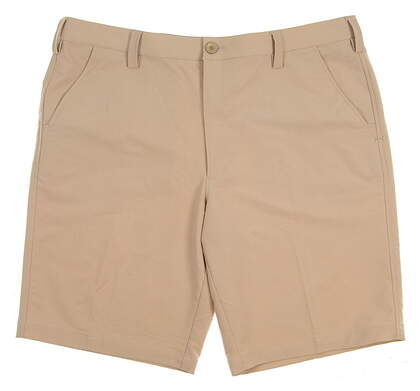 New Mens Under Armour Golf Shorts Size 40 Tan MSRP $60