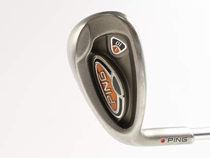 Ping i10 Wedge Sand SW FST KBS Tour Steel Wedge Flex Left Handed Red dot 35.25 in