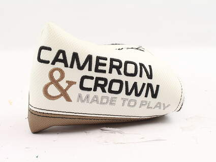 Titleist Scotty Cameron - Cameron and Crown Newport Mid Mallet Putter Headcover