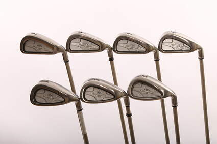 Callaway X-14 Iron Set 4-PW Callaway Gems Graphite Ladies Right Handed 37.25 in