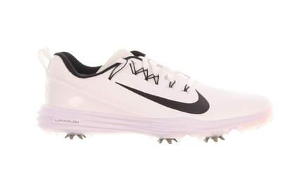 New Womens Golf Shoe Nike Lunar Command 2 Medium 10.5 White/Black MSRP $140