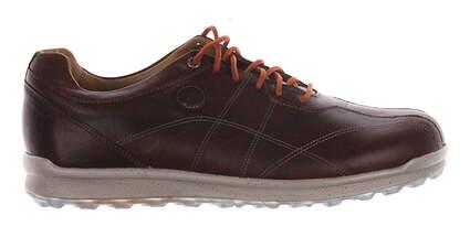 New Mens Golf Shoe Footjoy VersaLuxe Medium 9 Brown MSRP $170