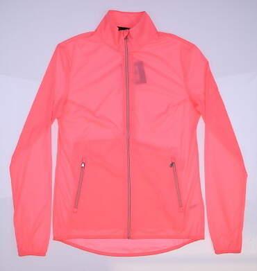 New Womens Ralph Lauren RXL Golf Wind Breaker Medium M Pink MSRP $198